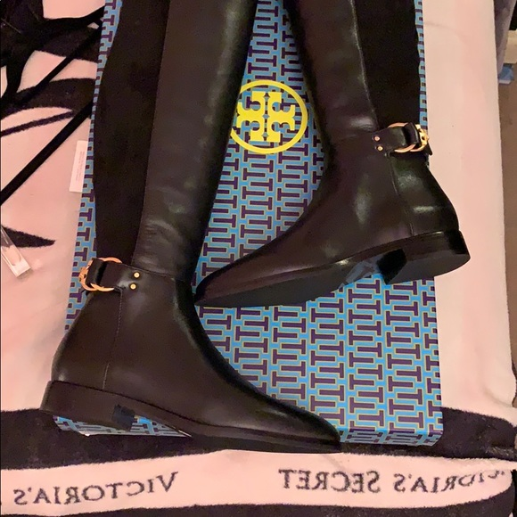 5d1abae6b0d Tory Burch Marsden OTK leather suede boot. NWT